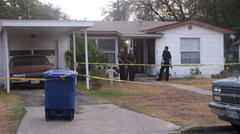 Image: Home of mother accused of decapitating baby