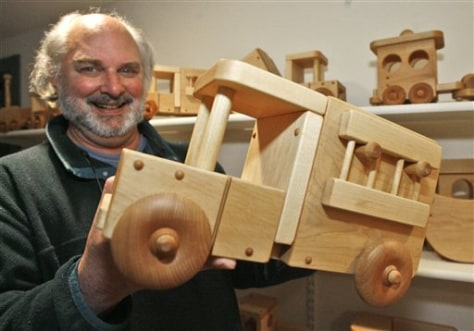 Image: Owner of Vermont Wooden Toys