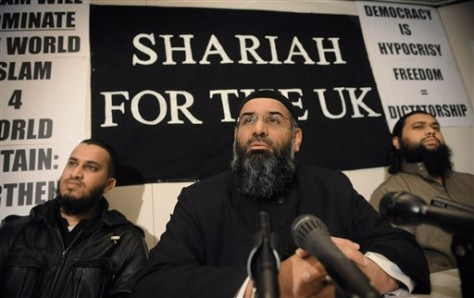 Image: Anjem Choudray of Islam4UK