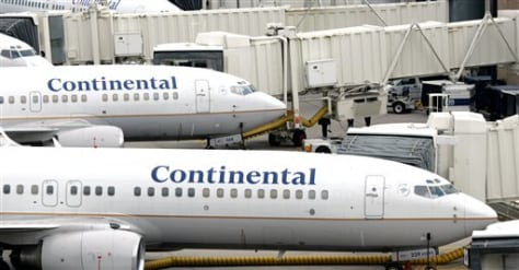 Image: Continental jets
