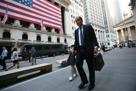 Image: Wall Street businessman