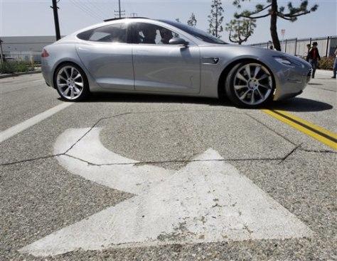 Image: Tesla sedan