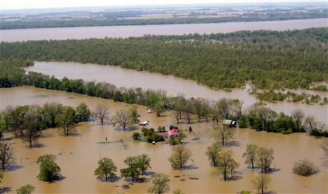 IMAGE: AERIAL OF FLOODING