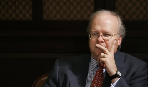 White House Deputy Chief of Staff Karl Rove