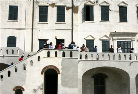Image: Ghana slavery fort