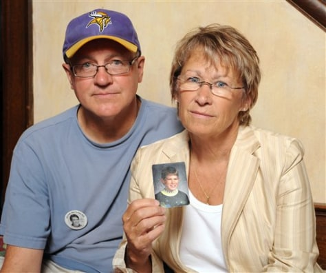 Image: Jerry Wetterling and wife Patty