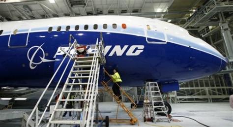 Image: Boeing787 jet