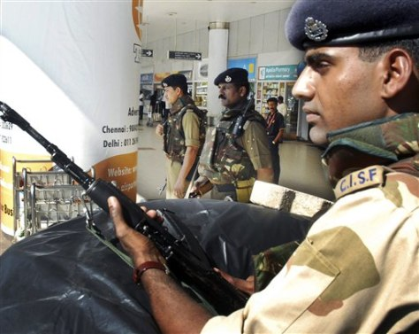 Image: India airport security