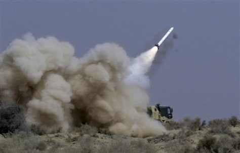 Image: Indian rocket launcher fires