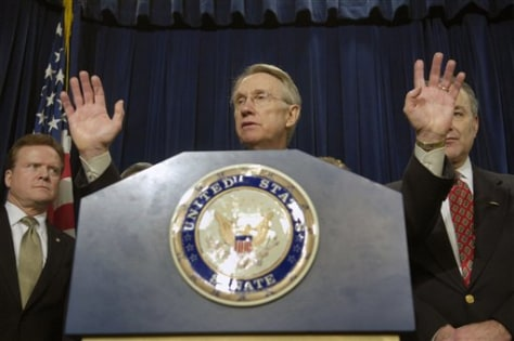 Sen. Majority Leader Sen. Harry Reid, D-Nev.