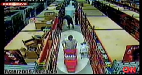 Image:Man alleged to be Zazi in beauty supply store