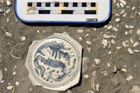 Mexico Shipwreck Artifacts