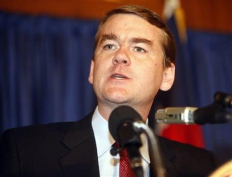 Colo.Senate-designate Michael Bennet