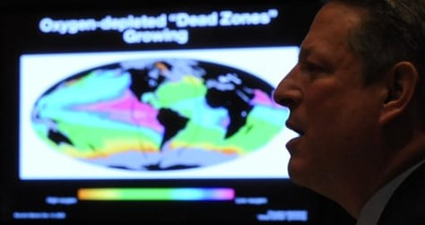 Image: Gore shows climate signal at Senate hearing