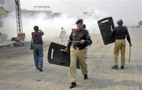 Image: Pakistan protest