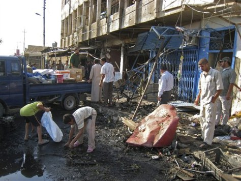 Image: Iraq Dujail Bombing
