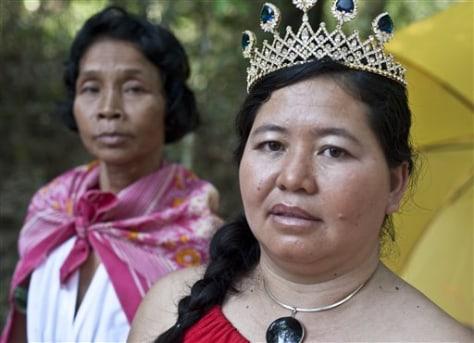 Cambodia Miss Landmine