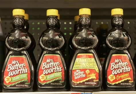 Image: Mrs. Butterworth's bottles