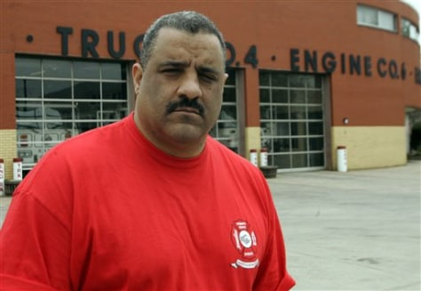 Image: Firefighter Gary Tinney