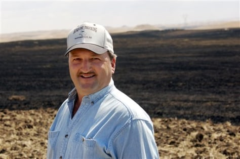 IMAGE: FARMER WHO OPTED OUT OF CONSERVATION PROGRAM