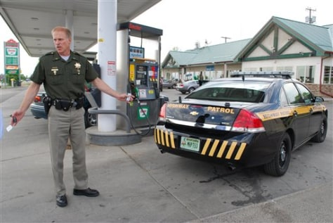Image: Highway patrol gas