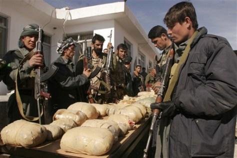 Afghanistan drug bust