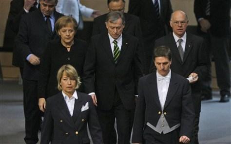 Image: German leaders