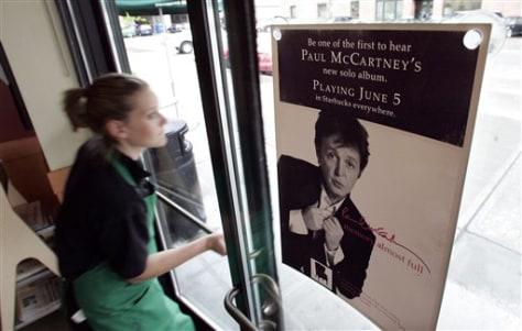 Image: Starbucks McCartney