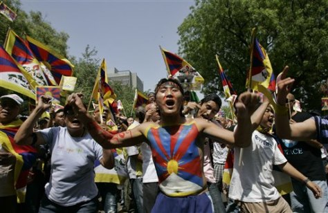 Image: Tibet protest in India