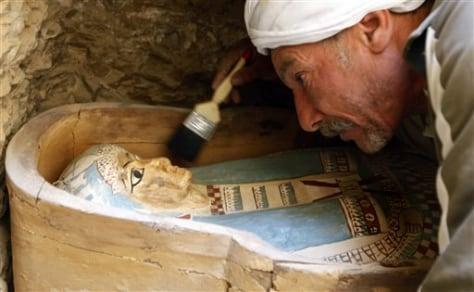 Image: Pharaonic sarcophagus