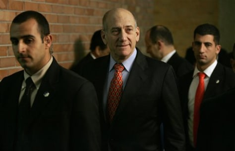 IMAGE: Olmert in Jerusalem