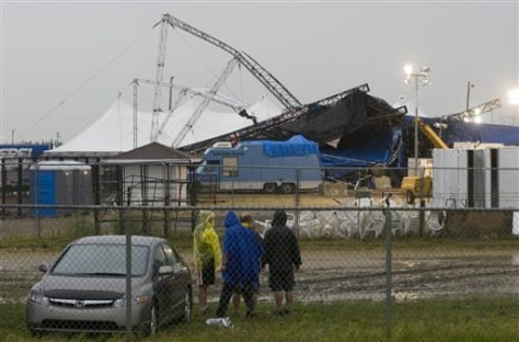Image: Stage collapse in Alberta