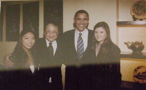 Image: Norman Hsu, Barack Obama