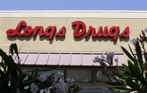 Image: Longs store in Palo Alto, Calif.