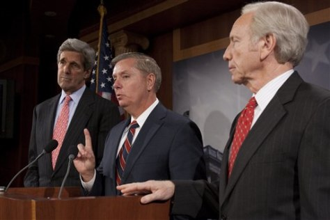 Image: Kerry, Graham and Lieberman