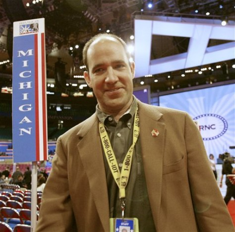 Image: Matthew Dowd, former pollster and strategist for President Bush