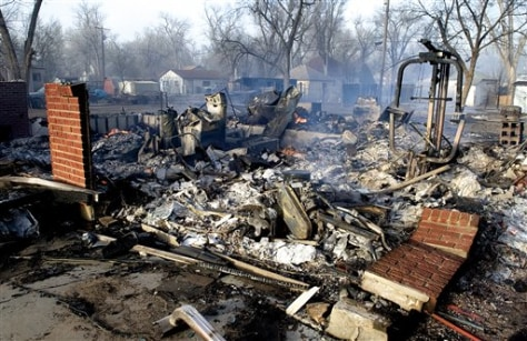 IMAGE: DESTROYED HOME