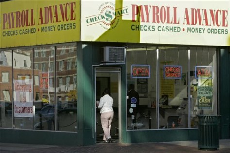 Image: Payroll advance store