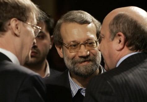 Image: Ali Larijani