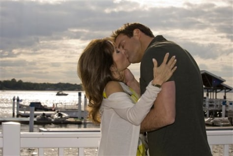 "Image: Susan Lucci, Cameron Mathison in ""All My Children"""