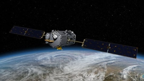 Image: Artist's concept of climate satellite