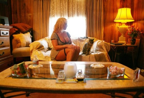 Image: Chicken Ranch prostitute Alicia.