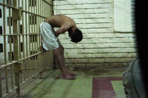 Image: Detainee in Abu Ghraib