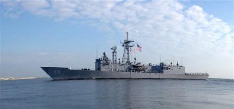 Image: US warship