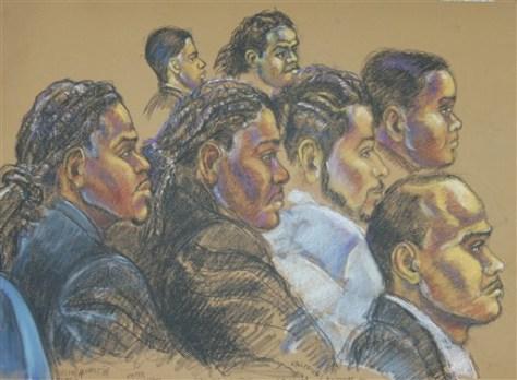 Image: Terror trial