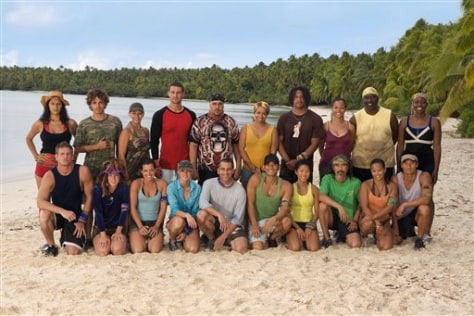 Image: New Survivor castaways