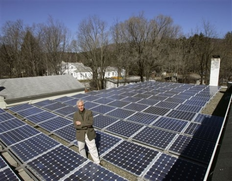 IMAGE: SOLAR PANELS IN WOODSTOCK
