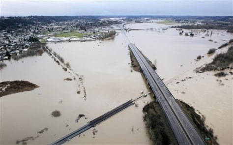 Image: Flooding in Chehalis, Wash.