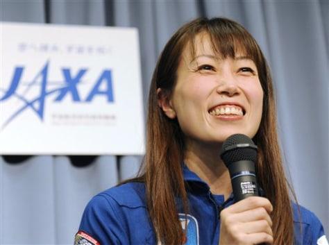 Image: Japanese astronaut Naoko Yamazaki