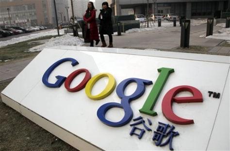 Image: Google, China